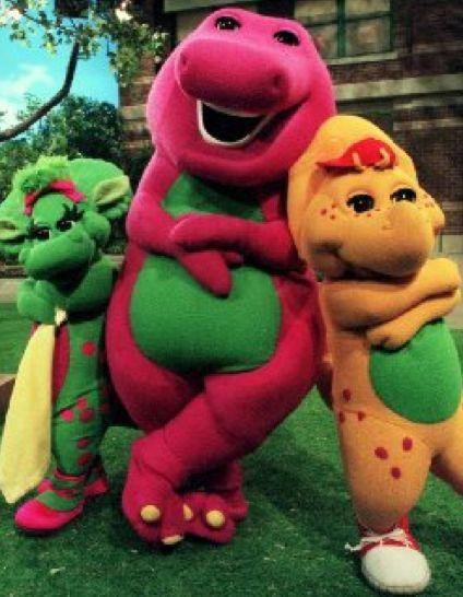Barney Birthday Cake Youtube
