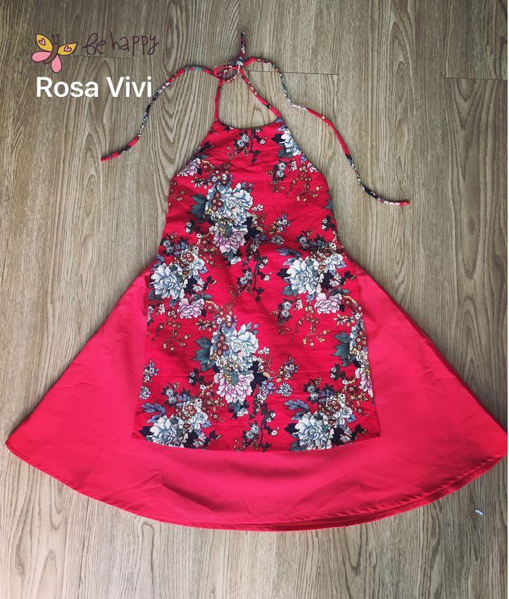 Áo dài Yếm phối váy cho bé Giá: size 1-4: 280k        Size 5-8: 310k        Size 8-13: 360k         Mẹ: 580k #RosaVivi; 83 Chương Dương Linh Chiểu Thủ Đức, HCM 01697777899