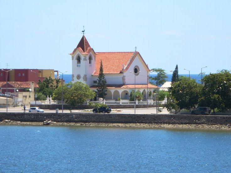 The fashionable Igreja da Arrábida on the Restinga Peninsula at Lobito, Angola, dates from Portuguese times.