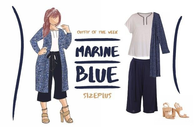 Outfit of the week : Out of the blue!