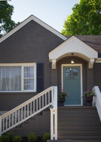 22 Best Images About Gray Exterior Paint Colors On Pinterest Paint Colors Dark Gray Houses