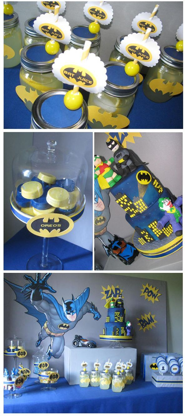 Batman www.tablescapesbydesign.com https://www.facebook.com/pages/Tablescapes-By-Design/129811416695