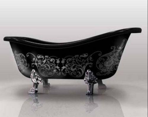 Footed Bathtub. I've always wanted one.