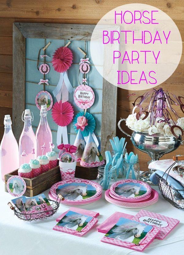 pony party ideas | Horse Birthday Party Ideas