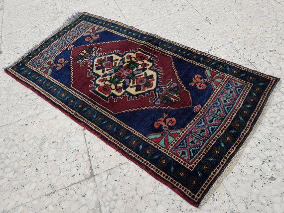 Shining Rug Flat Weave Dark Color Wool Carpet Sale Vintage