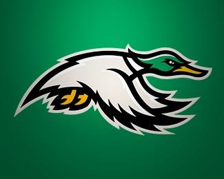 Ducks - sports l...P Sports Logo