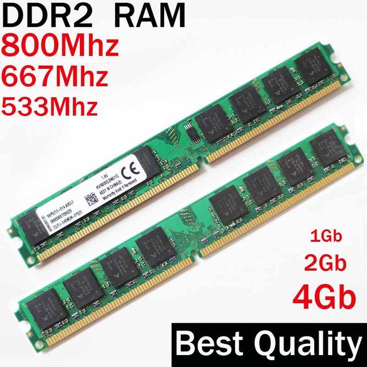 1G 2G 4G DDR2 800 667 533 Mhz/RAM DDR2 2 Gb 800 Mhz/Für AMD oder für Intel memoria 1 2 4 gb ddr2 4 gb 800 ddr 2 PC2-6400