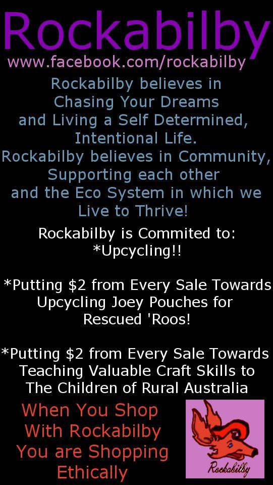 Shop Ethically, Shop with Rockabilby www.facebook.com/rockabilby