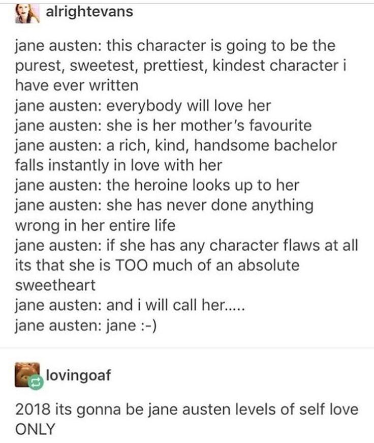 I freaking love Jane Austen