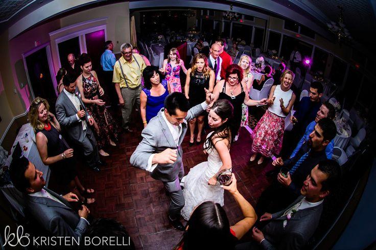 Comox Crown Isle Wedding, bride and groom dancing at their wedding reception, Vancouver Island Wedding