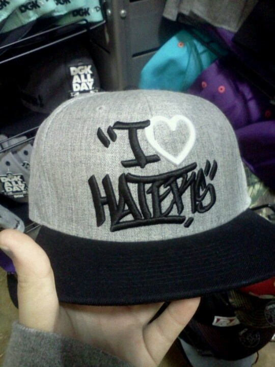 Obey snap back ;) hater will love