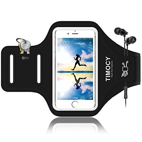 Arm band for Iphone 5SE, doesn't matter the brand but would be nice if it could withstand sweat (not leather) and could hold other things like keys  ... https://www.amazon.ca/dp/B0749KJPBN/ref=cm_sw_r_pi_dp_U_x_-eIIAbZP7ZVW2