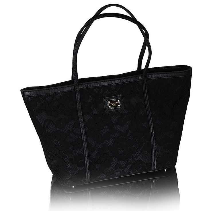 Сумка  Dolce Gabbana кружевная,отделка кожа. Размер: 25х45 Цена: 9000 руб.