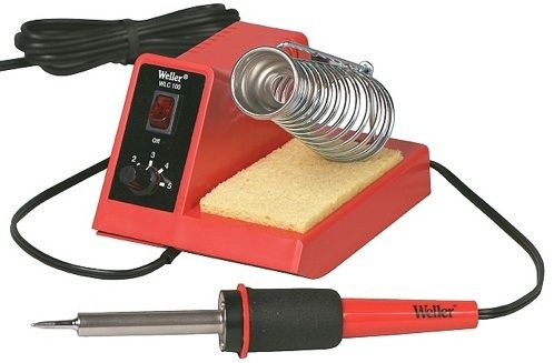 Looking for a good soldering iron? Check out the suggestions from other Makers out there, seems like Weller is a fave' - Link.
