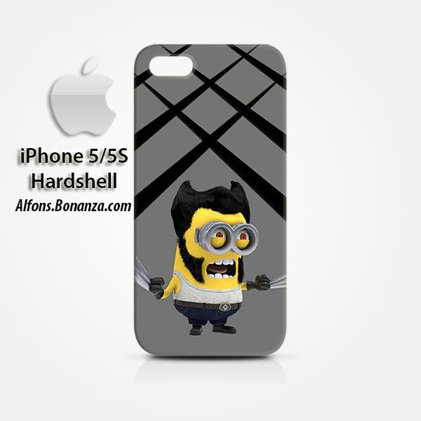 Wolverine Minions iPhone 5 5s Hardshell Case