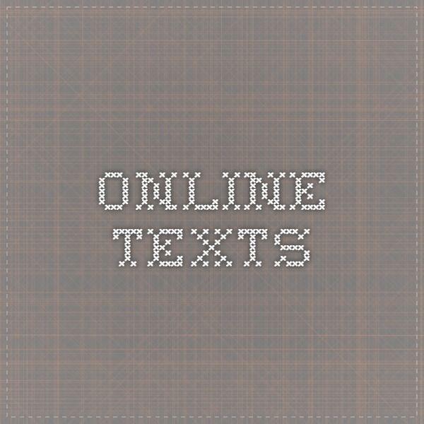 Online texts