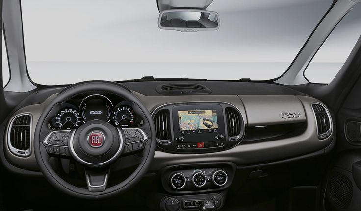 Fiat 500 L Living | Σχεδιασμός & Άνεση | Fiat Greece