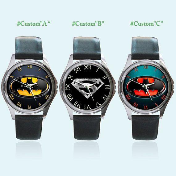 All Marvel Comics Batman Superman Round Metal by sadamtololsain, $13.00