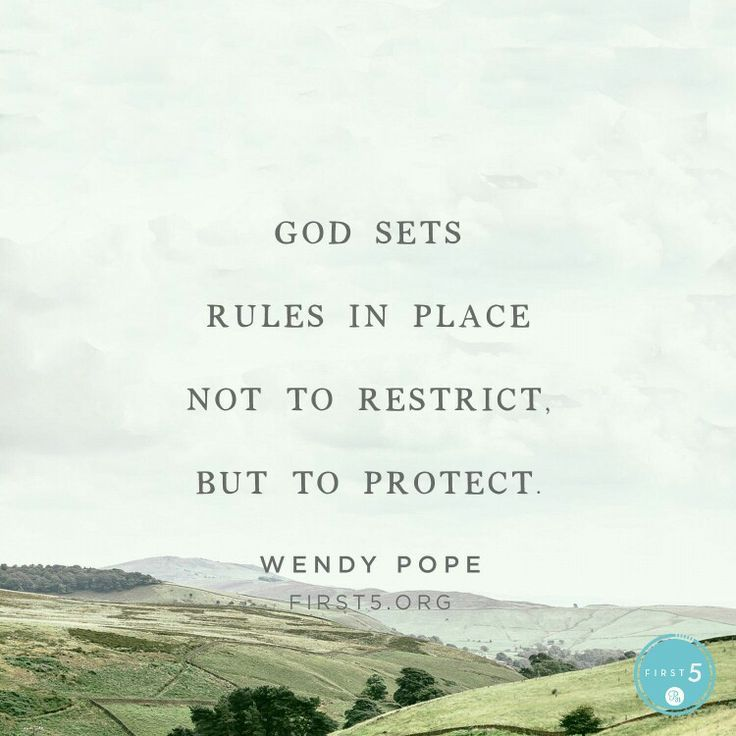 God protects