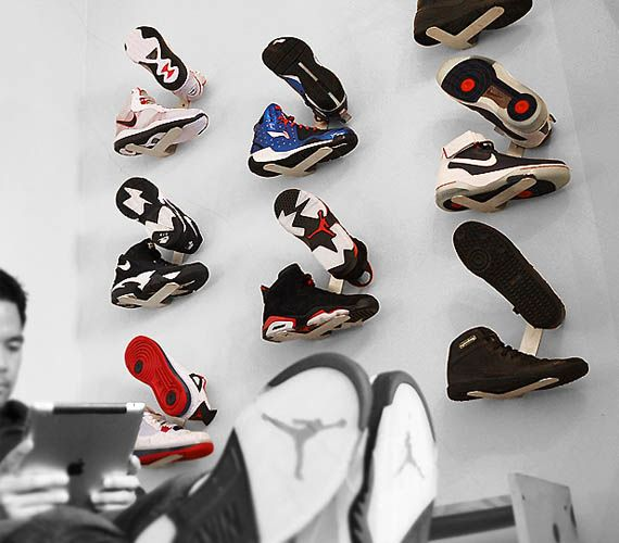 Shrine Sneaker Rack - For those kicks you want to show off without wearing