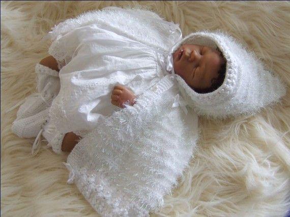 Gabriella Baby Girl Instant Downloadable by PreciousNewbornKnits, £4.63