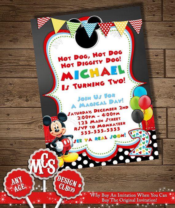 The 25 best mickey invitations ideas on pinterest mickey party mickey mouse invitation mickey invitation mickey invitation mickey birthday stopboris Choice Image