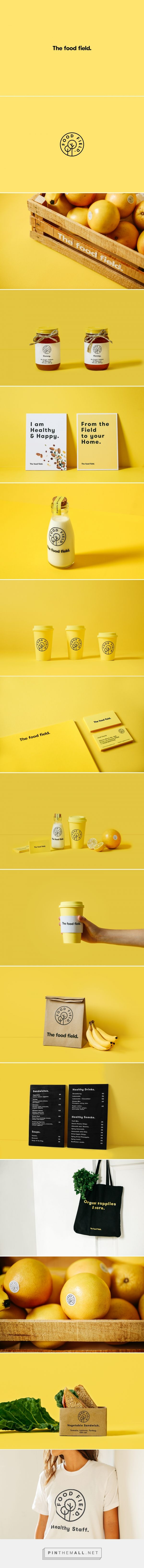 The Food Field. on Behance - created via https://pinthemall.net