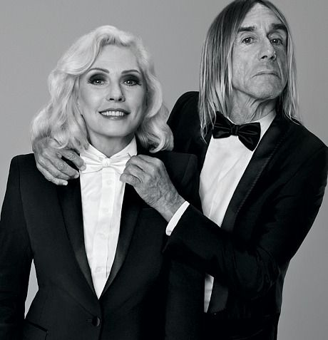 Debbie Harry and Iggy Pop in a Paco Rabanne campaign