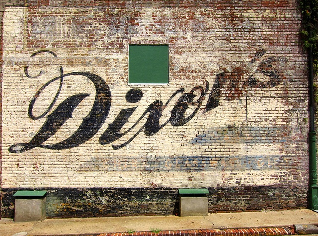Dixon's #ghostsign