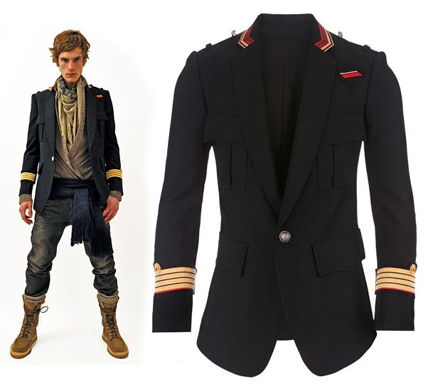 78 best military jacket images on Pinterest | Balmain men ...