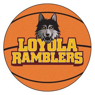 FANMATS NCAA Loyola University Chicago Basketball Mat