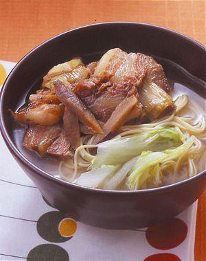 豚角煮ラーメン | 夏梅美智子さんのレシピ【オレンジページnet】プロに ...