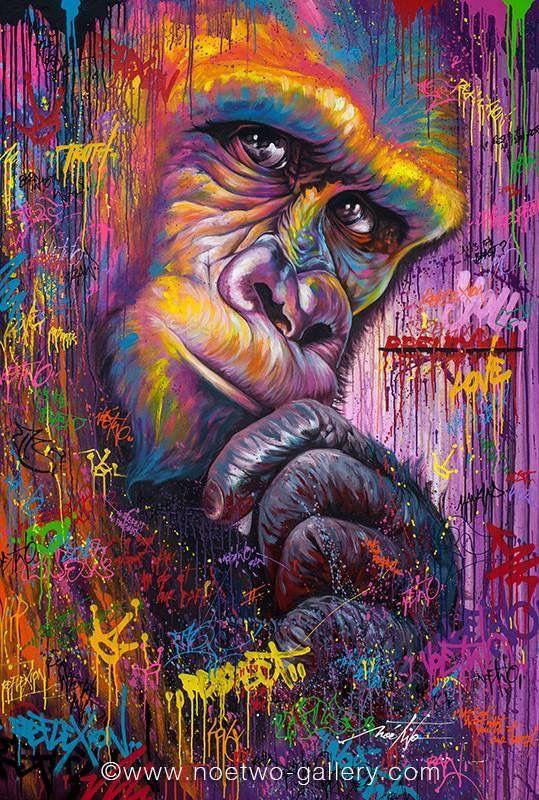 Magnifique Tableau Peinture Street Art ! Découvrez nos toiles peintures sur notre boutique www.artwall-and-co.com
