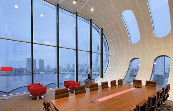 De 10 indrukwekkendste kantoren ter wereld