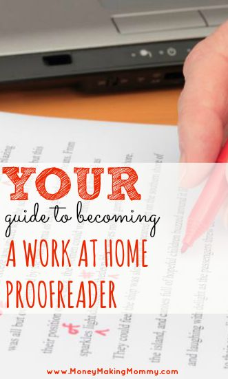 Expert guide to becoming a proofreader and finding work at home proofreading jobs! A career in proofreading can be flexible and lucrative. Learn how this 28-year-old is traveling the world AND making a full time income doing proofreading (and from her iPad no less!!) And by full-time income, I'm talking over $3,000 a MONTH! No detail is left unmentioned - get the scoop and start your path to working at home as a proofreader!