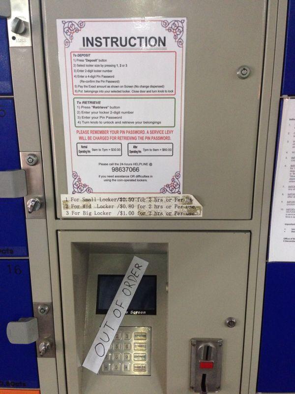 Locker machine