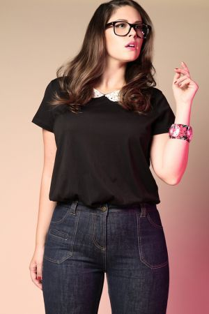 Plus size brands at source. Also adore the Peter Pan collared shirt
