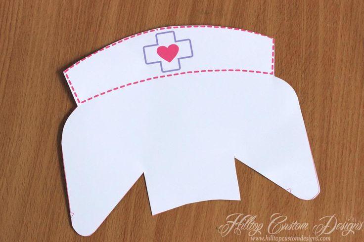 paper nurse hat instructions