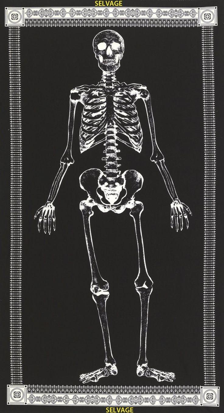 Mr. bones cg3650p Timeless treasures fabric, Cotton