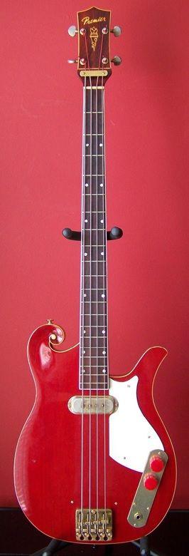 Waterstone Guitars Mark Sandman Bass