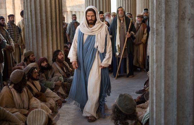 Mark 12:13–17 KJV - Jesus teaches to Pharisees.  LDS bible videos