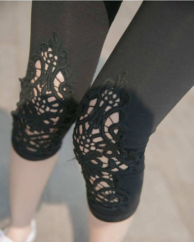 Sexy Strumpfhose Damen Blumen Drucken Leggin Leggings