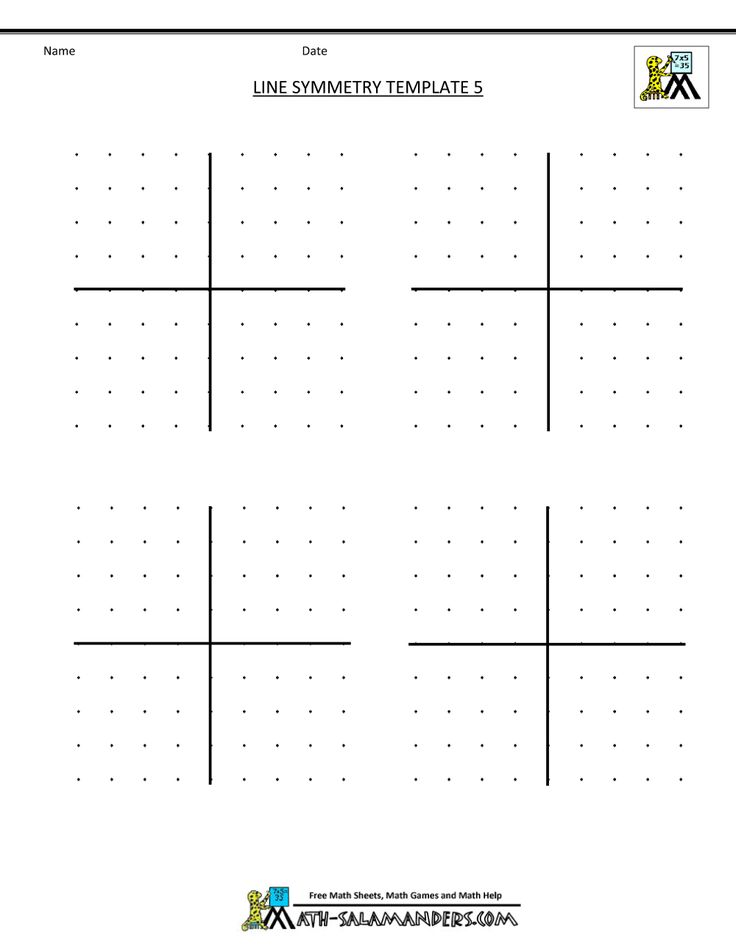 25 Best Symmetry Worksheets Images On Pinterest | Symmetry