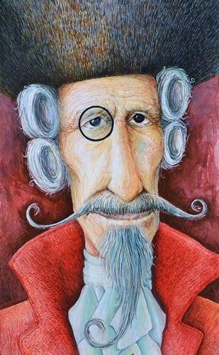 """The Adventures of Baron Munchausen"" - portrait"