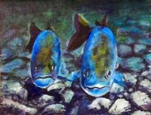 River Fish Color Reference Image