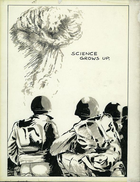 Raymond Pettibon » No Title (Science grows up...)David Zwirner