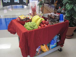 Have your PTA put together a snack cart for the teachers for Teacher Appreciation Week