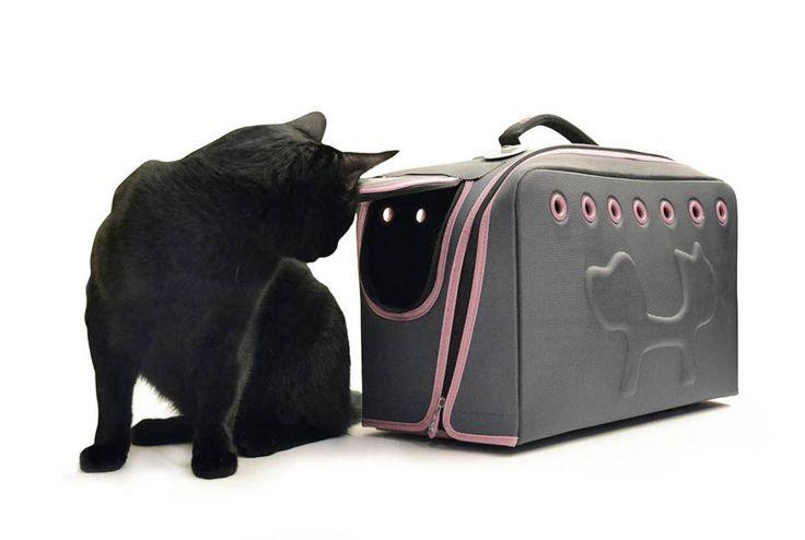 Torba do przewożenia kota, transporter dla kota. Zobacz więcej na: https://www.homify.pl/katalogi-inspiracji/13318/pomysly-na-prezenty-dla-milosnikow-zwierzat