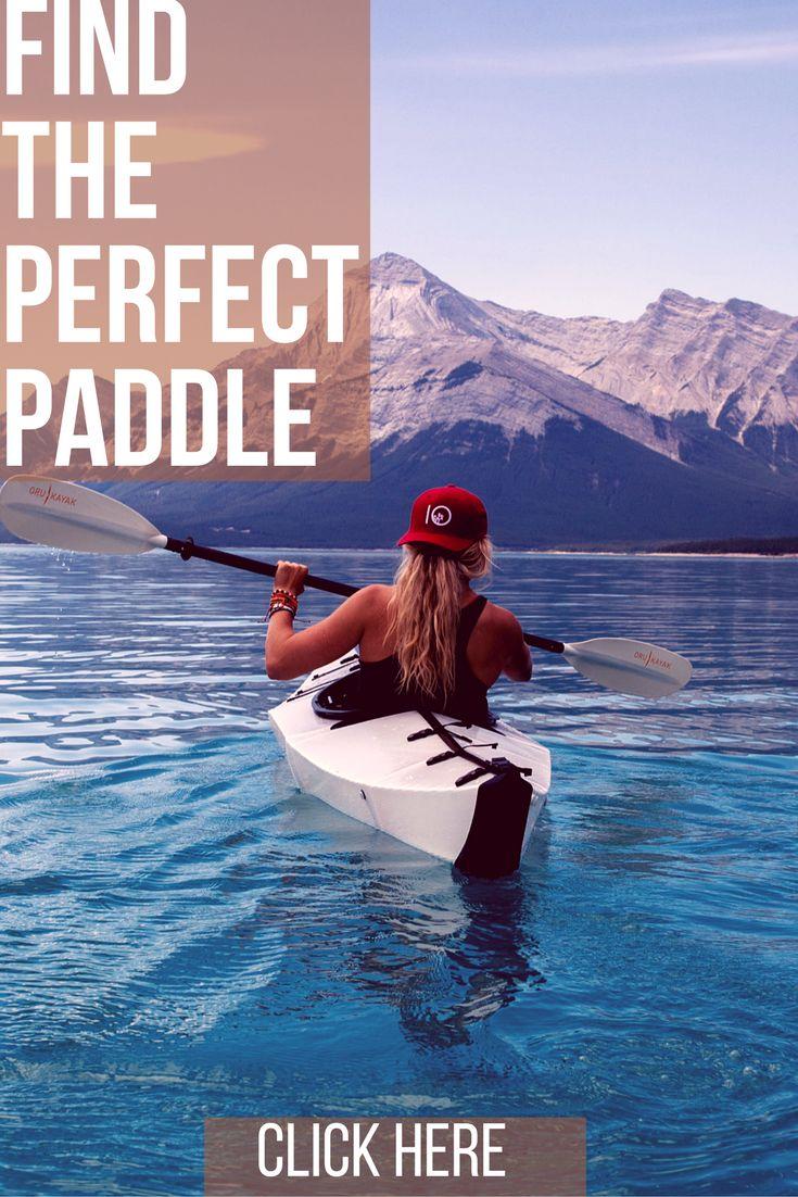 Looking for the perfect paddle? We've got it! Visit justincasekayak.com :)