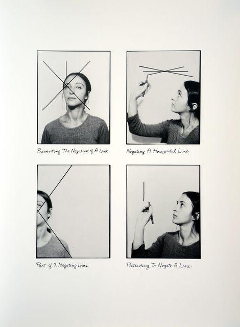 Roberta Allen, 'Negation Print (Aphoto),' 1976-1977, Minus Space